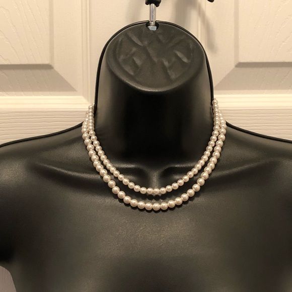 Vintage 1950/60 Double Strand Pearl Choker Costume & Vintage Jewelry | 195060 Double Strand Pearl Choker Costume | Poshmark